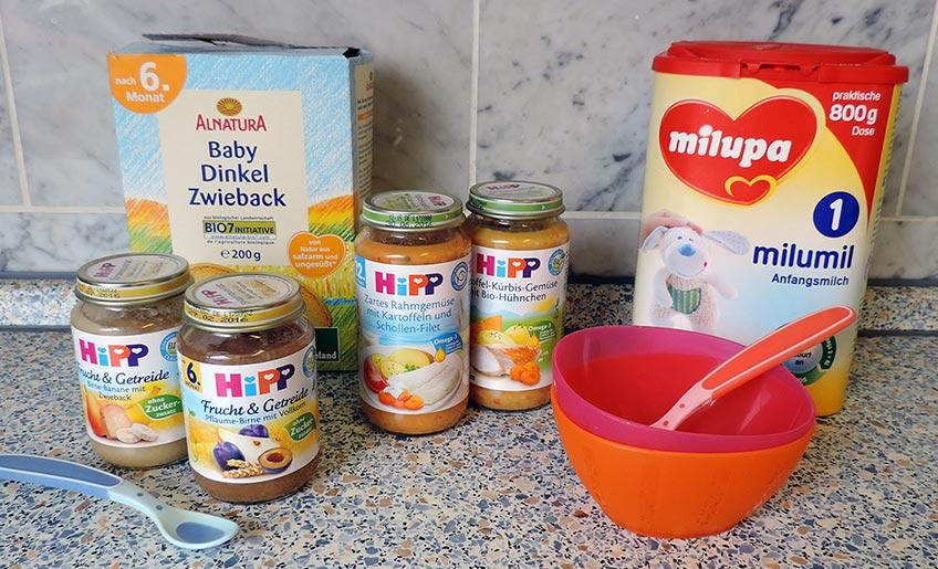 Säuglingsernährung