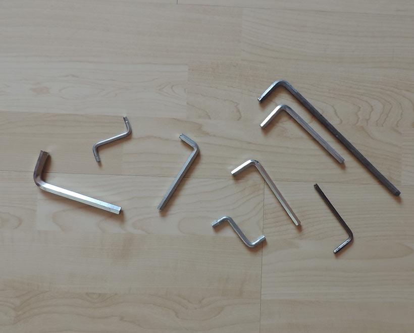 Werkzeug-Inbusschlüssel