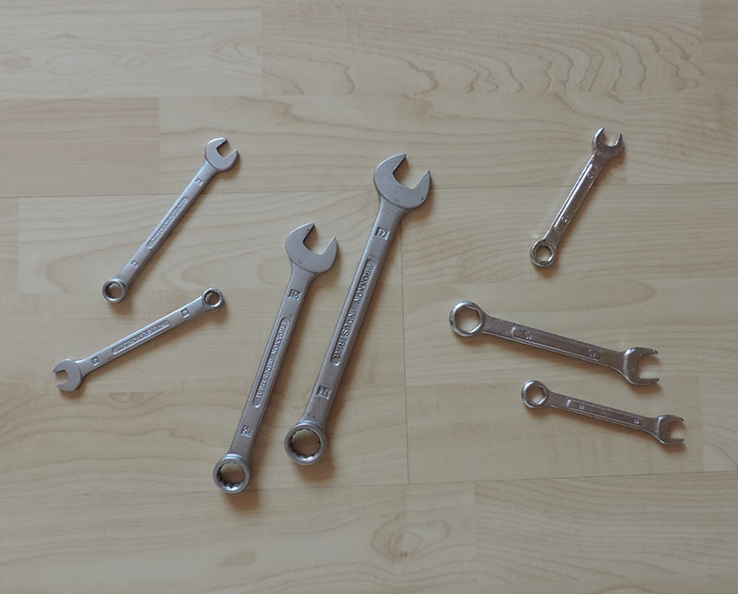 Werkzeug-Schraubenschlüssel