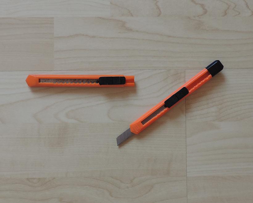 Werkzeug Teppichmesser