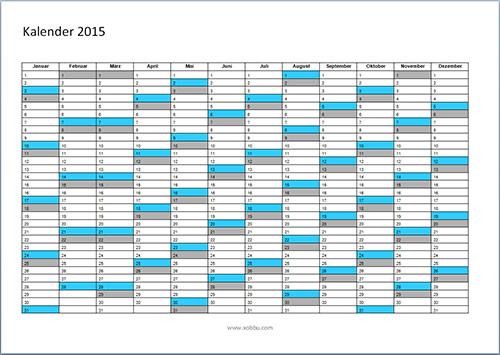 Jahreskalender-2015-Vorlage