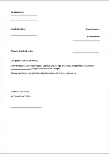 Kündigung-Handyvertrag-Widerruf-PDF