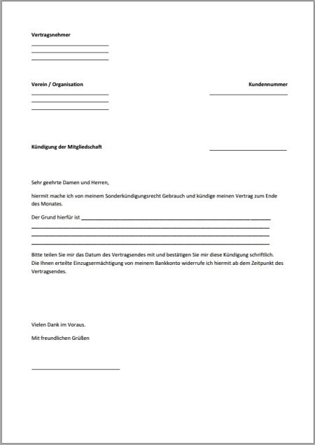 Kündigung-Mitgliedschaft-Fristlos-PDF - Xobbu