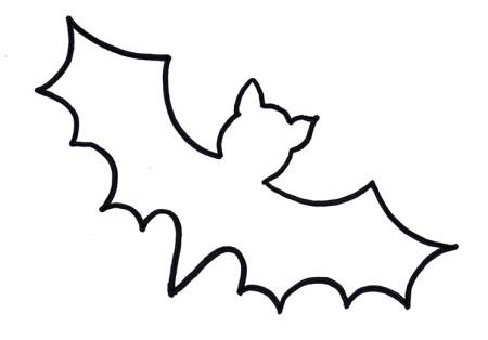 halloween-bastelvorlage-fledermaus-für-kinder - xobbu