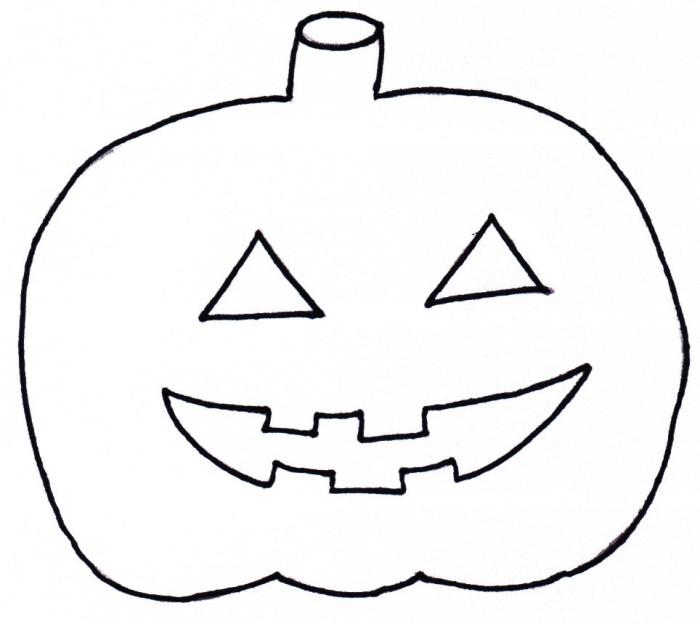 Großartig Halloween Kürbis Malvorlagen Für Kinder Bilder - Entry ...