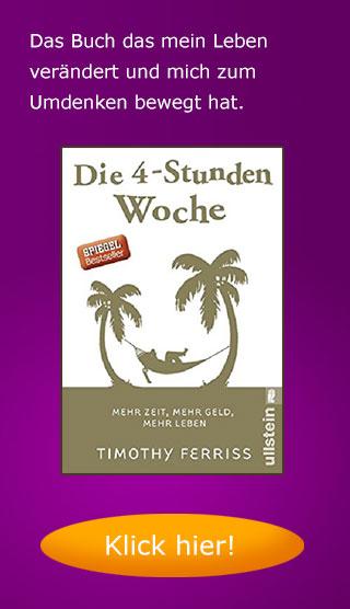 Buch: Die 4 Stunden Woche von Timothy Ferris
